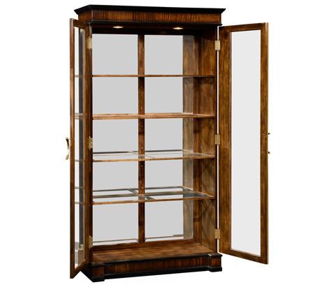 Jonathan Charles - Mahogany Regency Style Bookcase with Columns - 495063