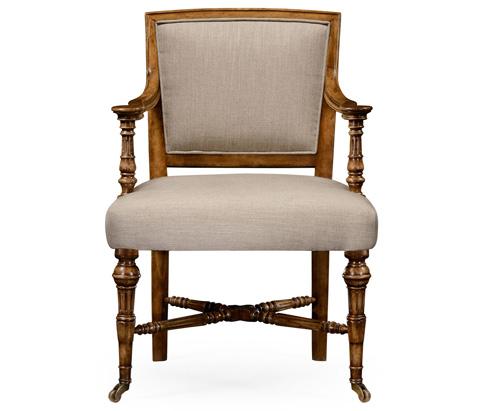 Jonathan Charles - Halwell Upholstered Chair - 530005
