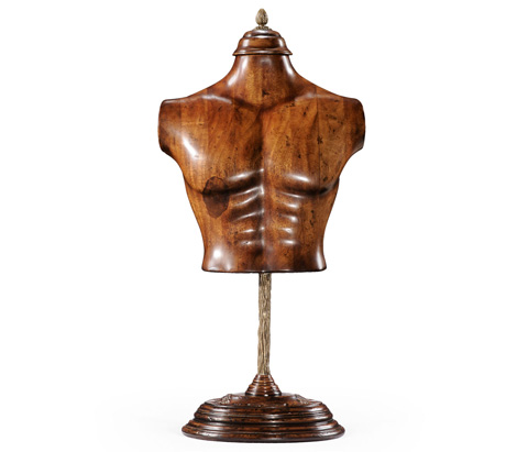Jonathan Charles - Male Wooden Mannequin and Torso On Stand - 493856
