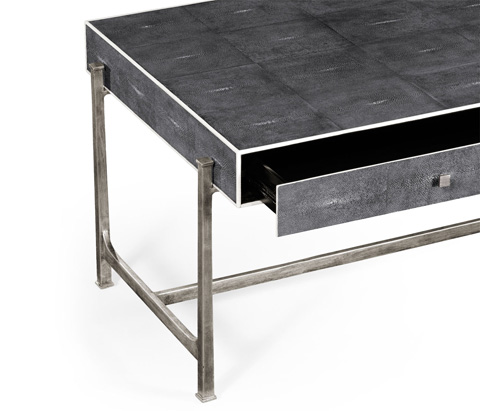Jonathan Charles - Coffee Table With Silver Base - 494324-S