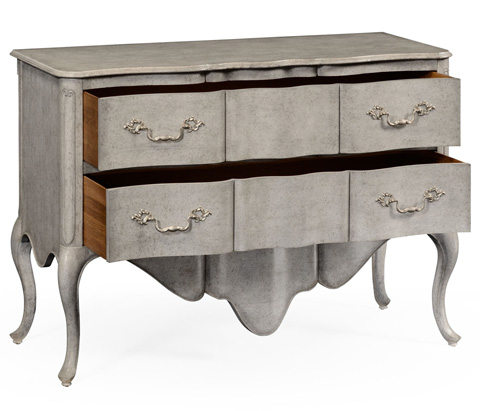Jonathan Charles - French Provincial Style Chest Of Drawers - 495038-PGR