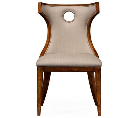 Jonathan Charles - Greek Revival Biedermeier Mahogany Side Chair - 495046-BMA-SC