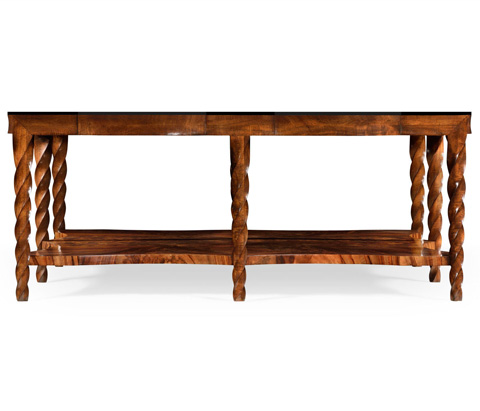 Jonathan Charles - Twist Square Coffee Table - 495340-WLL