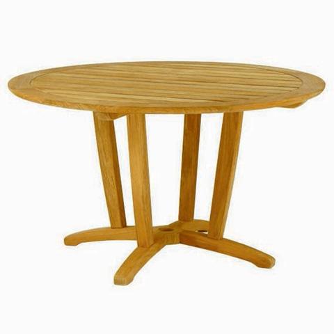 Kingsley-Bate - Amalfi Round Dining Table - AM50