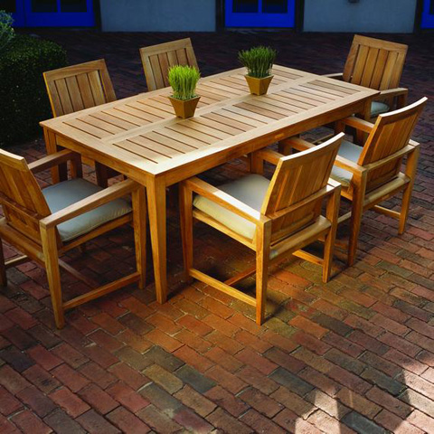 Kingsley-Bate - Amalfi Rectangular Dining Table - AM73