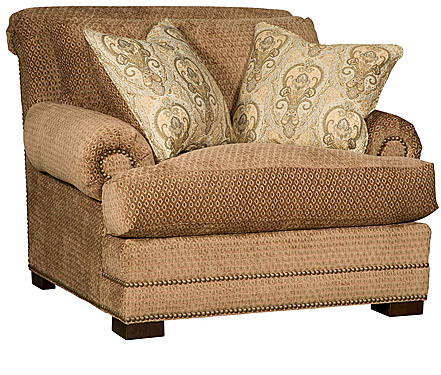 King Hickory - Barclay Fabric Chair - 4601