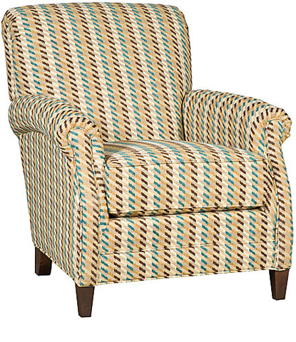 King Hickory - Yale Chair with Ottoman - 301/308