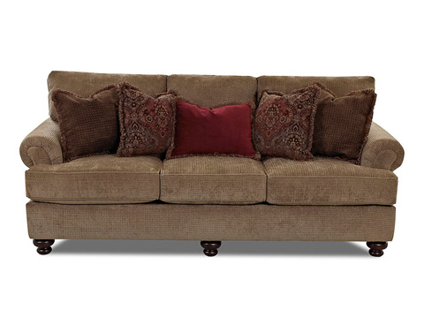 Klaussner Home Furnishings - Greenvale Sofa - K73500F S