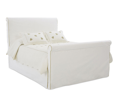 Klaussner Home Furnishings - Midland Slipcover Queen Bed - 778-050 QBED
