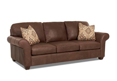 Klaussner Home Furnishings - Moorland Sofa - LT11600AP S