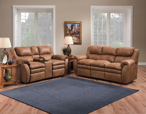 Lane Home Furnishings - Hendrix Double Reclining Console Loveseat - 294-43