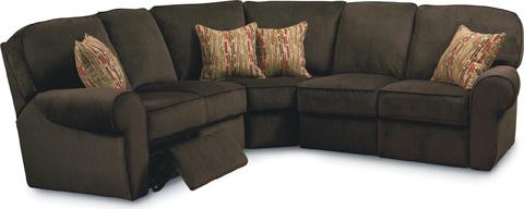 Lane Home Furnishings - Megan Reclining Sectional - 343