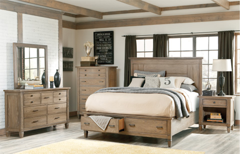 Legacy Classic Furniture - Brownstone Village Five Drawer Chest - 2760-2200