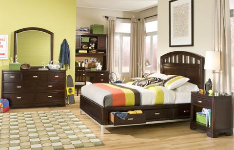 Legacy Classic Furniture - Twin Platform Storage Bed - 9980-4733K