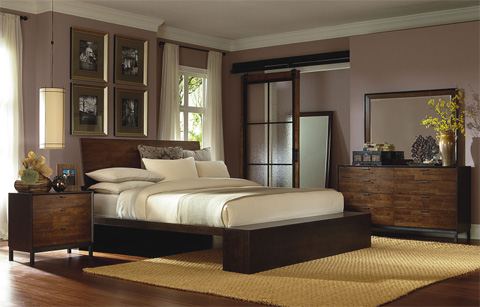 Legacy Classic Furniture - Kateri Queen Platform Bed - 3600-4755K