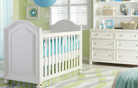Legacy Classic Furniture - Stationary Crib - 2830-8901