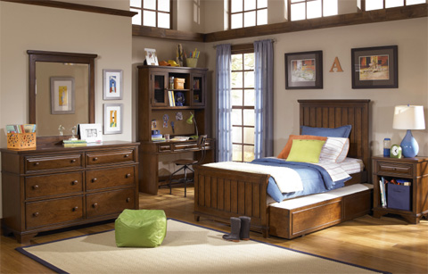 Legacy Classic Furniture - Twin Panel Bed - 2960-4103K