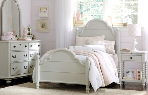 Legacy Classic Furniture - Twin Westport Low Poster Bed - 3830-4203K