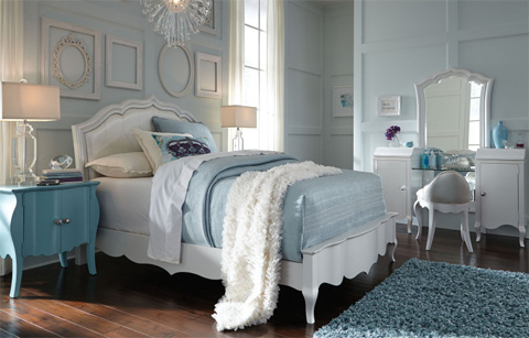 Legacy Classic Furniture - Twin Upholstered Bed - 5930-4803K