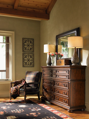 Lexington Home Brands - Lakeview Mirror - 455-205