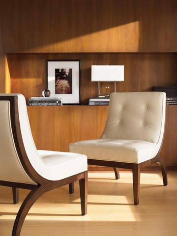 Lexington Home Brands - Matrix Leather Chair - LL1554-11