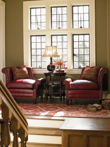 Lexington Home Brands - Braddock Left Arm Facing Leather Chair - LL7414-11L