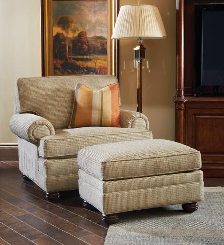 Lexington Home Brands - Overland Ottoman - 7451-44