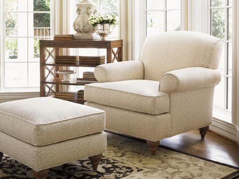 Lexington Home Brands - Montgomery Ottoman - 7586-44