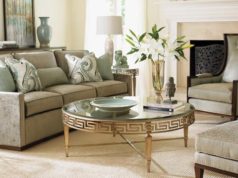 Lexington Home Brands - Deerfield Round Cocktail Table - 706-943
