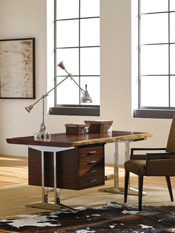 Lexington Home Brands - La Costa Live Edge Writing Desk - 100NL-405