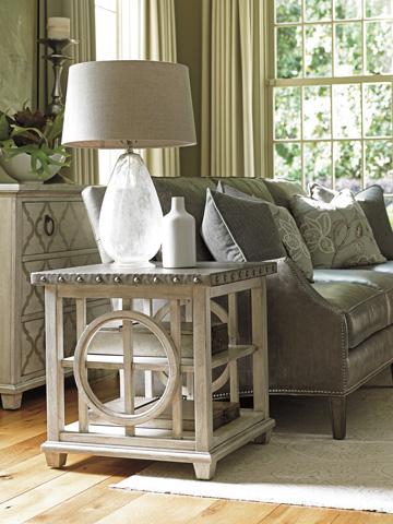 Lexington Home Brands - Lewiston Square Lamp Table - 714-955