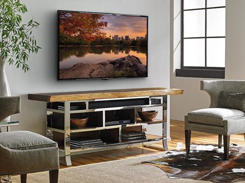 Lexington Home Brands - Katara Live Edge Media Console - 100NL-670