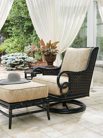 Lexington Home Brands - Outdoor Ottoman - 3237-44
