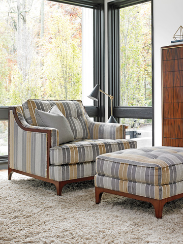 Lexington Home Brands - Barclay Ottoman - 7577-44