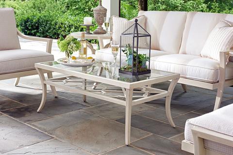 Lexington Home Brands - Outdoor Rectangular Cocktail Table - 3239-945