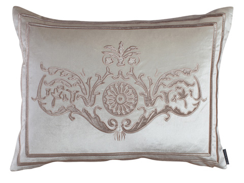 Lili Alessandra - Paris Standard Pillow in Ivory - L152AI
