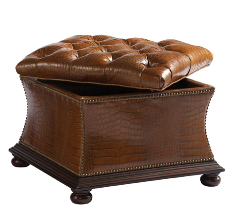 Lillian August Fine Furniture - Trevor Storage Ottoman - LL8007OT