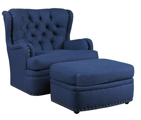 Lillian August Fine Furniture - Carter Ottoman - LA4140OT