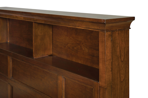 Magnussen Home - Riley Cherry Bookcase Panel Bed - Y1873 BOOK