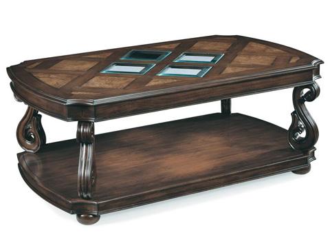 Magnussen Home - Rectangular End Table - T1648-03
