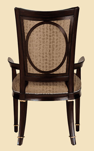 Marge Carson - Tufted Arm Chair - SBA46-1