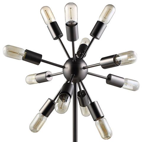 Modway Furniture - Spectrum Metal Table Lamp in Black - EEI-1564