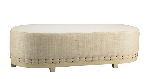 Mr. and Mrs. Howard by Sherrill Furniture - South Beach Cocktail Ottoman - H212B