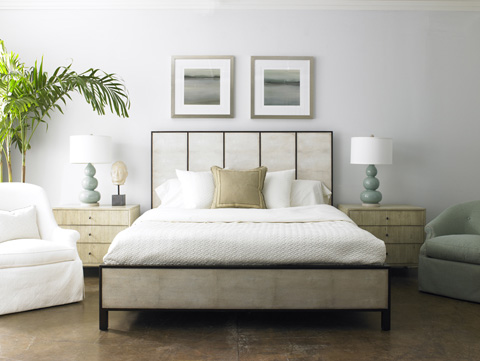 Mr. and Mrs. Howard by Sherrill Furniture - Thad's King Bed - MH12523-90