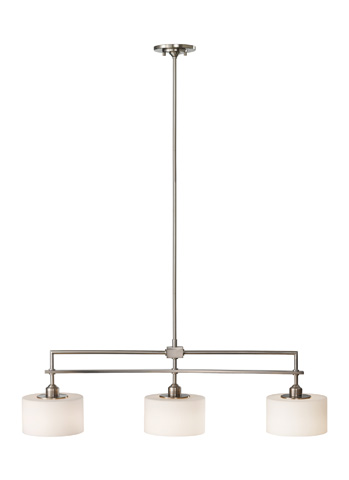 Feiss - Three - Light Island Chandelier - F2402/3BS