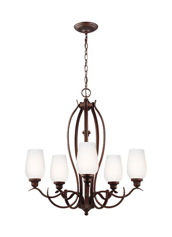 Feiss - Five - Light Chandelier - F3002/5ORBH