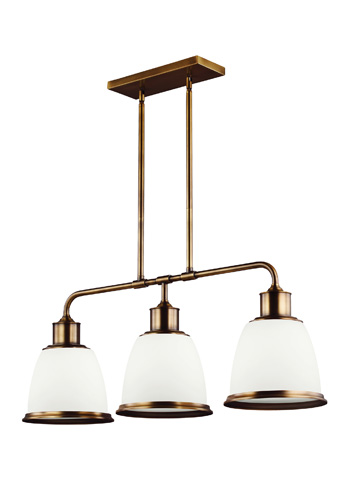 Feiss - Three - Light Island Chandelier - F3017/3AGB