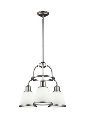 Feiss - Three - Light Chandelier - F3018/3SN