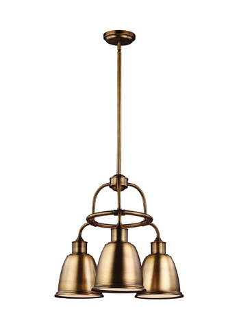 Feiss - Three - Light Chandelier - F3022/3AGB