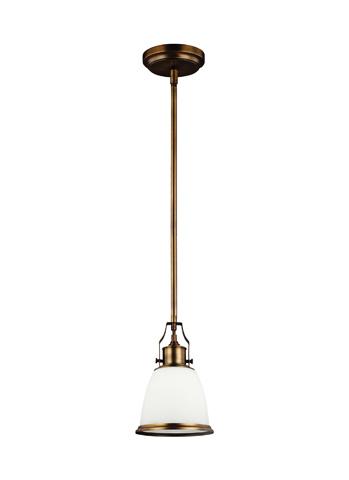 Feiss - One - Light Mini-Pendant - P1351AGB